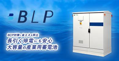 中型産業用蓄電システム〈BleuPOWER™〉