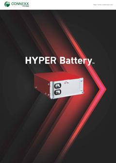 急速充電・急速放電専用電池 HYPER Battery™カタログ表紙