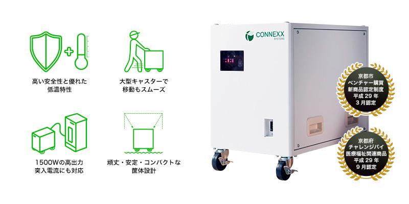 非常用モバイル蓄電システム『PEシリーズ』【停電・BCP・防災対策】