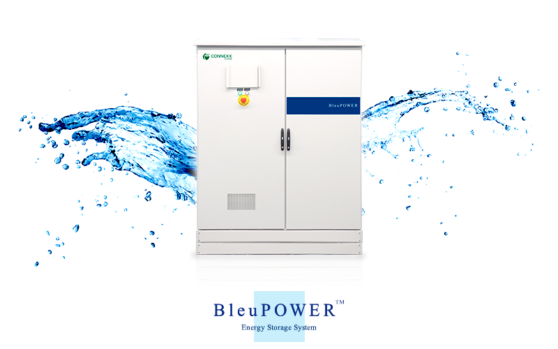 中型産業用蓄電システム『BleuPOWER』