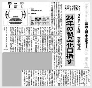 電子デバイス産業新聞(2021年5月20日号)にSHUTTLE Batteryを取り上げていただきました。